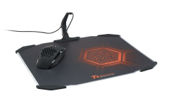 VENTUS laser mouse with DRACONEM aluminum mouse pad