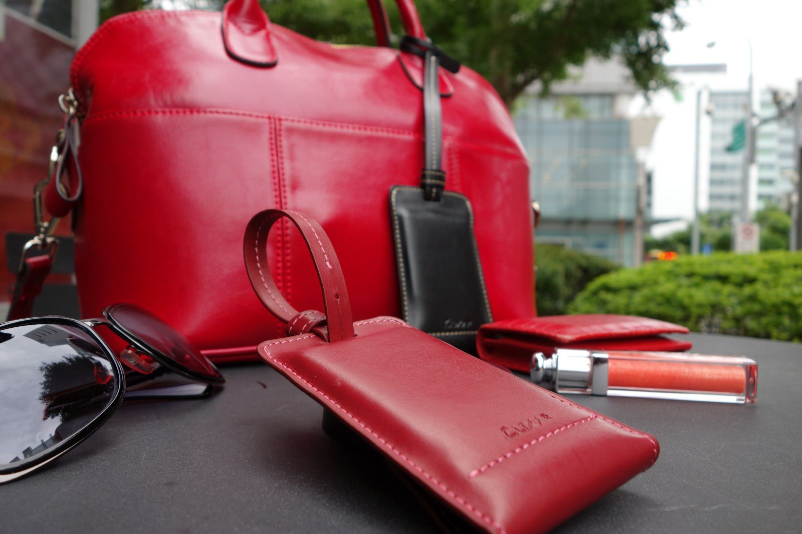 PL1 2800mAh Leather Power Bank