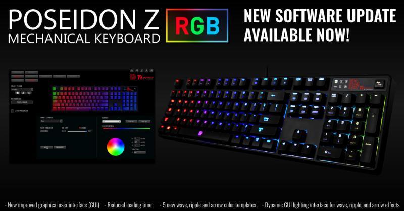 POSEIDON Z RGB New Software Updated - Mechanical - Tt Community