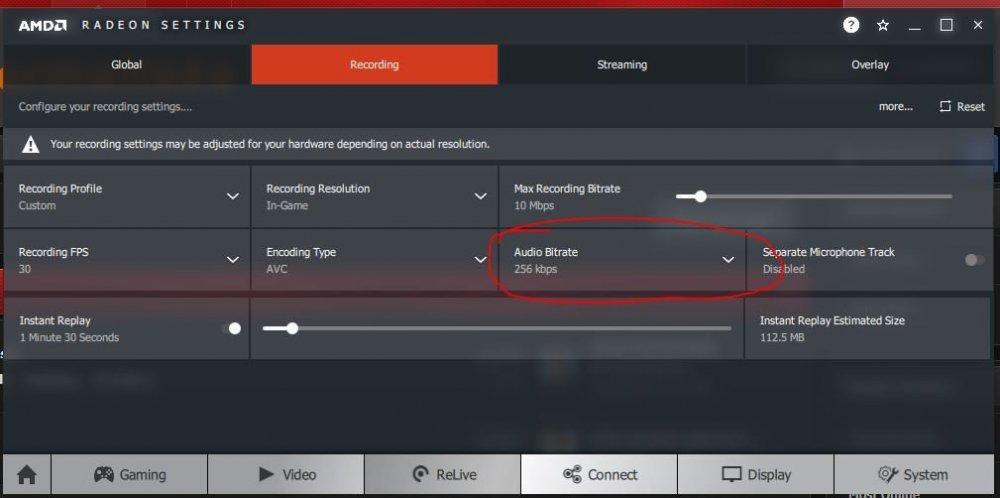 Audio Bitrate Radeon Relive.JPG