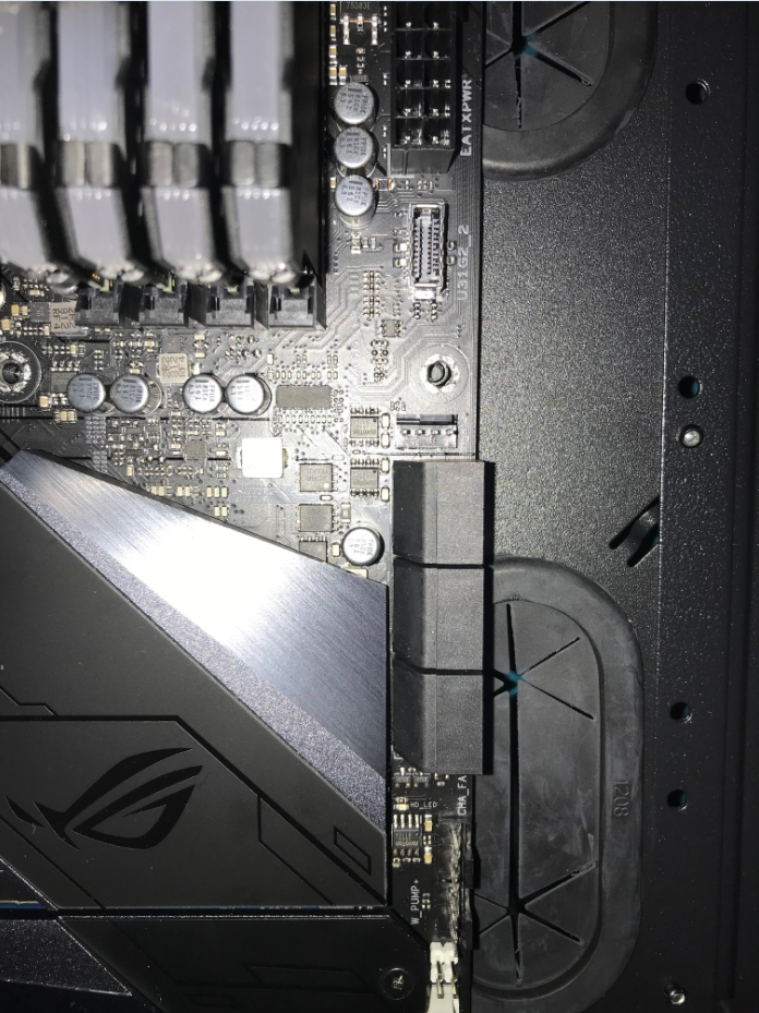 Thermaltake View 31 not compatible with ASUS board, Maximus Z390